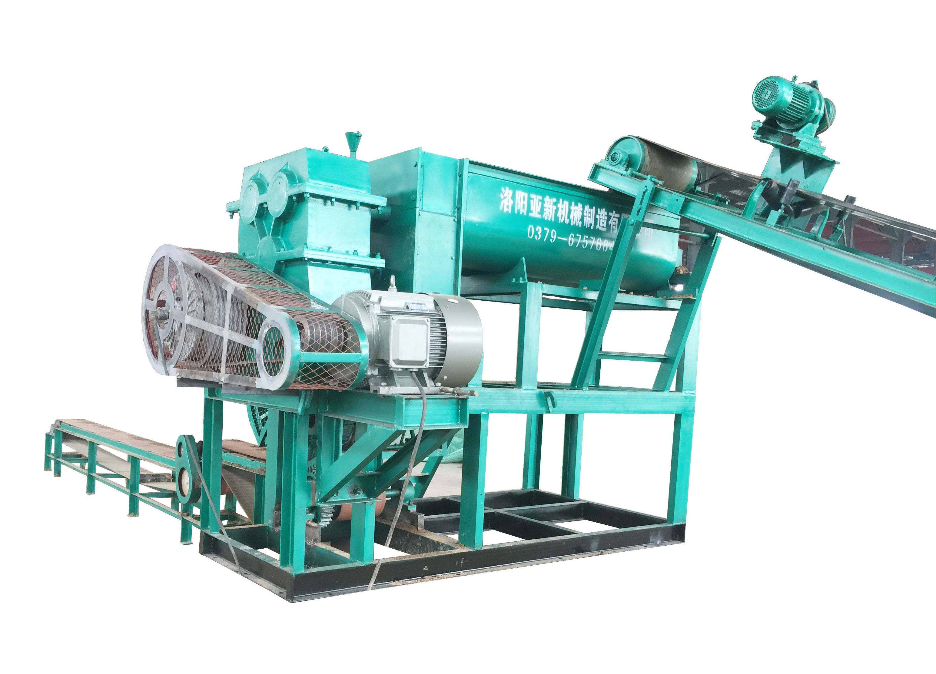 JP Logo Brick making machine
